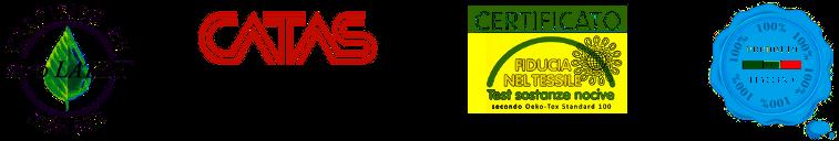 Le certificazioni dei nostri guanciali in lattice