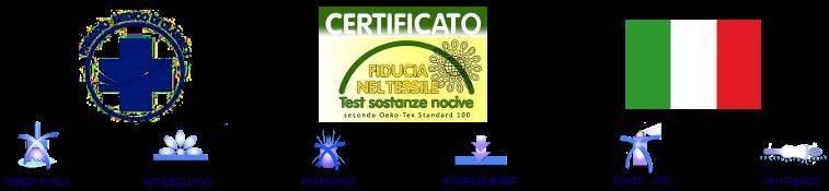 Le certificazioni del materasso Salus Design